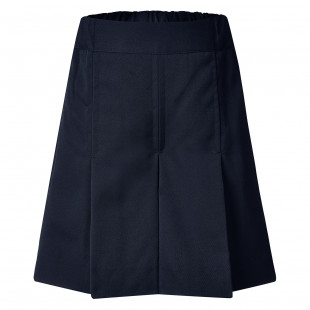 Rose Box Pleat Gaberdine Shorts