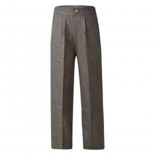 Parkes Melange Double Knee Long Pants