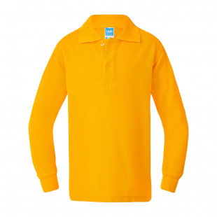 Armstrong Cotton Back Long Sleeve Polo