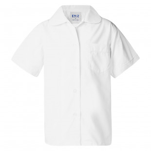 Holman Peter Pan-Collar Short Sleeve School Blouse